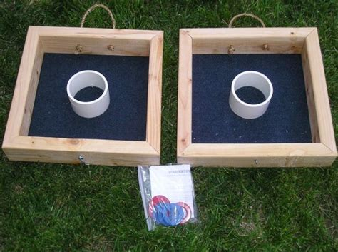 backyard washer toss square washer toss game diy why didn t i think of that