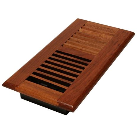 decor grates 4 in x 14 in solid cherry wood