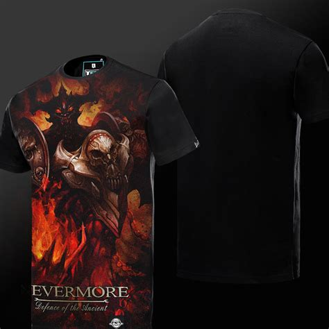 Dota Shirt Black defense of ancients dota nevermore t shirt black 3xl