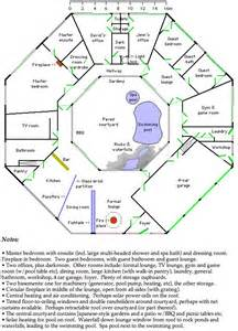 Octagon Cabin Plans by Octagonal House Plan My Style I Wish Pinterest