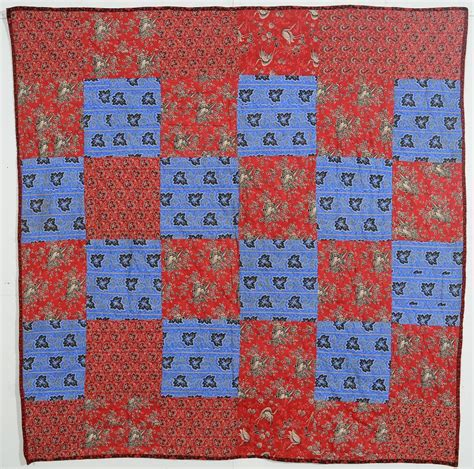 One Patch Quilts by Reversible One Patch And Nine Patch Quilt Circa 1880 S Maryland