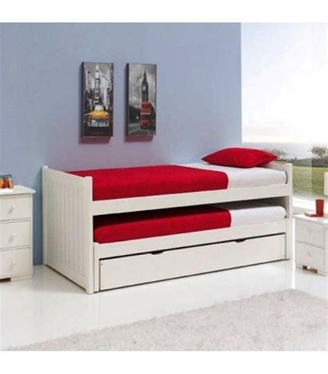 cama nido con dos camas y cajones cama nido en pino macizo con dos camas simples y un caj 243 n