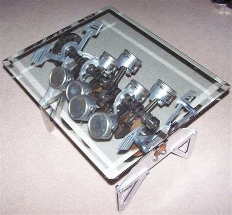 Engine Block Coffee Table Engine Block Coffee Table