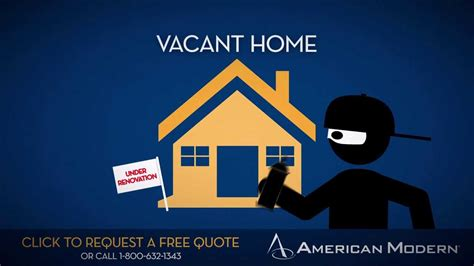 vacant home insurance american modern insurance
