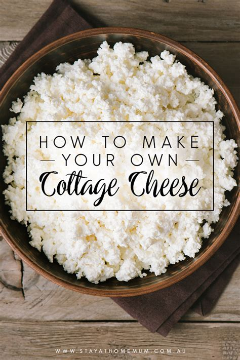 how to make cottage cheese how to make your own cottage cheese stay at home