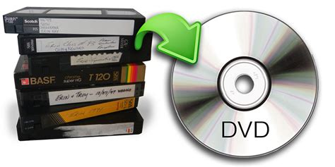 why convert your svhs vhs footage to dvd
