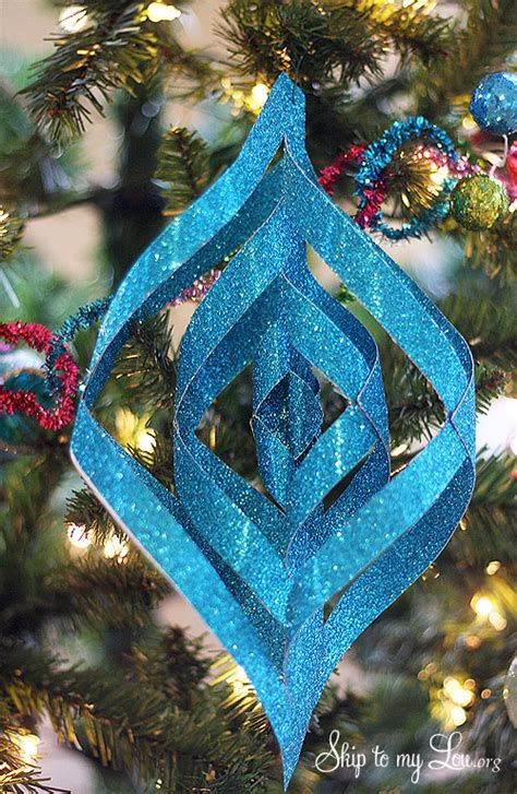 paper christmas ornaments patterns michael s tree challenge how to make handmade ornaments skip to my lou