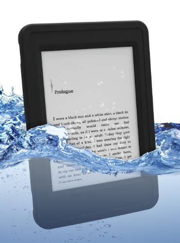 kindle paperwhite rugged atlas waterproof for kindle paperwhite by incipio black 0814523093865 buy new and used