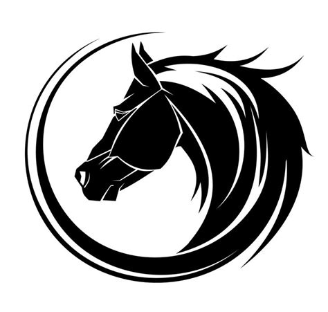 horse tattoo designs free best 25 tribal ideas on