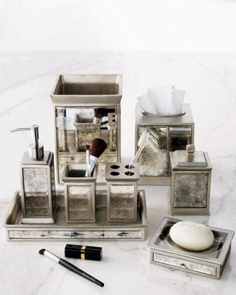 mirrored bathroom accessories palazzo vintage vanity accessories neiman marcus