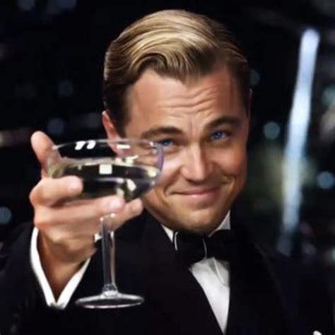 Meme Leonardo Dicaprio - leonardo dicaprio wine glass meme generator