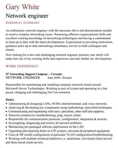 network administrator resume template templates instathreds co