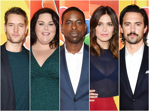 cast of the cast of quot this is us quot put their semi best forward
