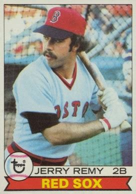 Kartu Remi Card I Grade 727 1979 topps jerry remy 618 baseball card value price guide