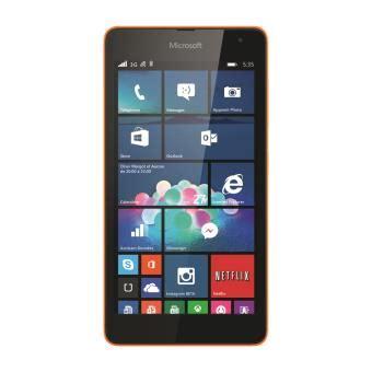 Hp Nokia Lumia 535 Ds nokia fnd lumia 535 ds orange smartphone met windows fnac be