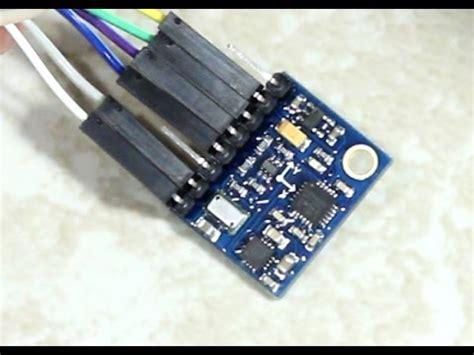 first steps with a gy 86 10dof sensor: mpu6050, hmc5883l
