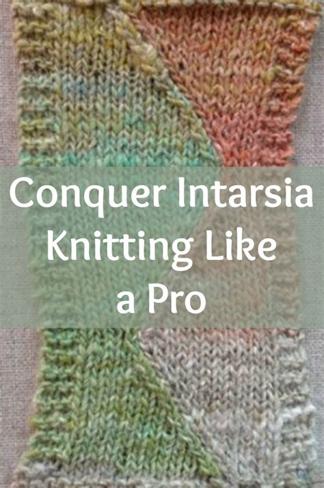 knitting intarsia tutorial best 25 intarsia knitting ideas on change
