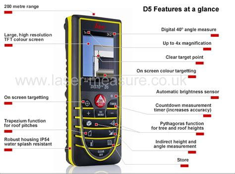 Leica D 5 leica disto d5 laser measure leica geosystems laser measure co uk