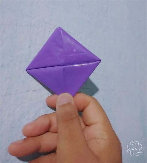 Plastic Origami - origami envelope made with plastic by aureliusorigami on