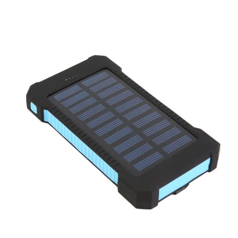 charger solar 300000mah dual usb portable solar battery charger solar