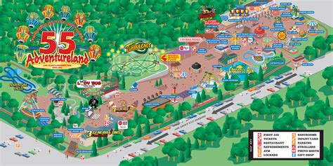 Adventureland Gift Card - adventureland amusement park attractions map adventureland amusement park long