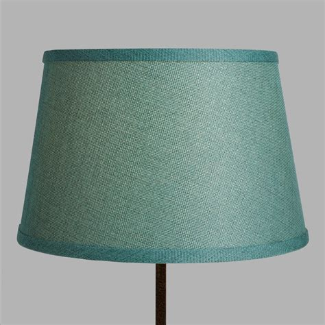 world market l shades aqua linen accent l shade world market