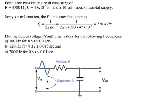 use of capacitor in low pass filter capacitor association calculator 28 images simple capacitor low pass filter 28 images simple