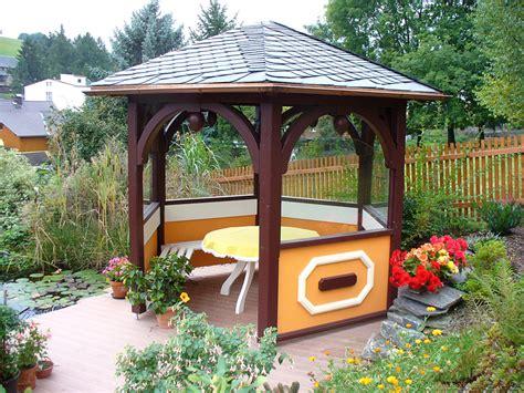 feste pavillons pavillon aus holz carport scherzer