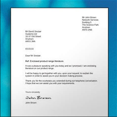 Business Letter Format Guide How To Write Letters Free Business Template