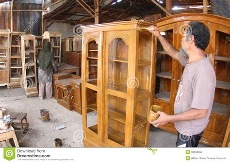 woodworker making furniture editorial stock image image