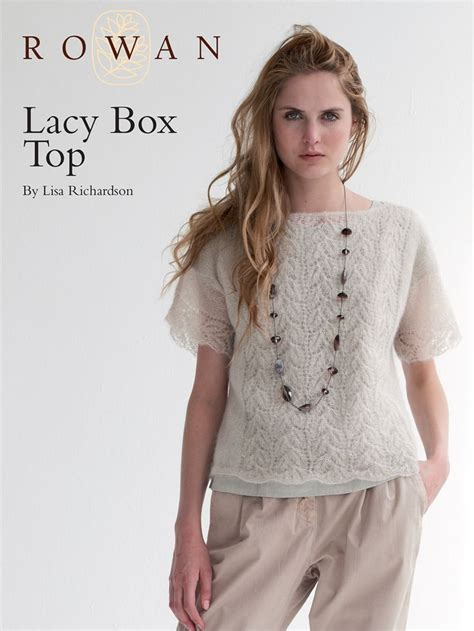 top pattern pinterest lacy box top knit pattern knitted top patterns