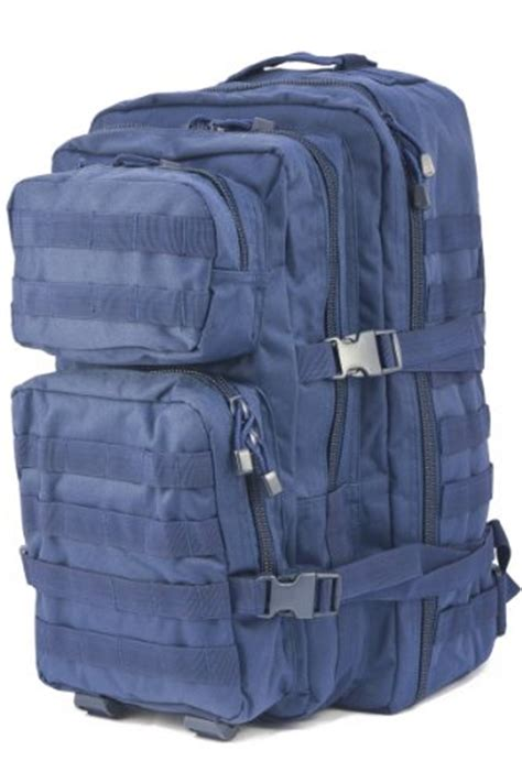 Navy Club Hiking Backpack 9087 50l mil tec army patrol molle assault pack tactical combat rucksack backpack 50l navy