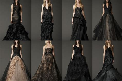couture or costume the black wedding dress 1st on trend