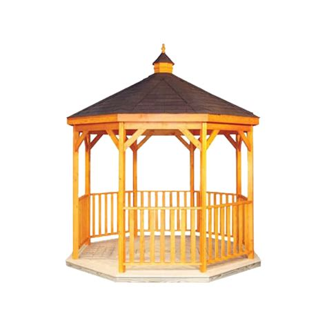 Handmade Gazebos - 10ft wooden amish country gazebo pool warehouse
