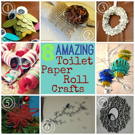 Crafts With Empty Toilet Paper Rolls - 10 best photos of toilet paper roll wreath
