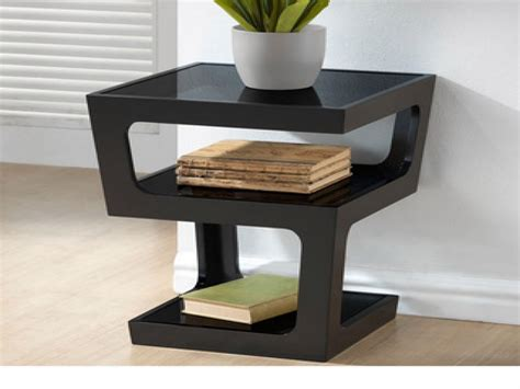 contemporary wood end tables modern wood end tables modern black end table