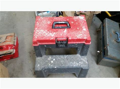Step Stool Toolbox Combo tool box step stool combo central