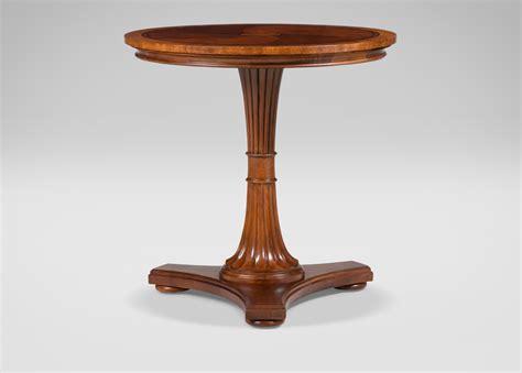 Pedestal Side Table Upton Pedestal Table Side Tables