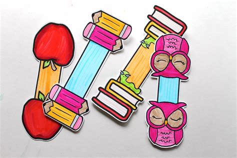 printable magnetic bookmarks free printable bookmarks to color for teacher appreciation