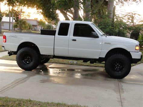 ford ranger lifted 2011 ranger body lift please read ranger forums the