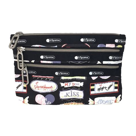 Blink Charm Sweet Classic 3 Professional Pack lesportsac essential classic 3 zip cosmetic pouch sweet talk