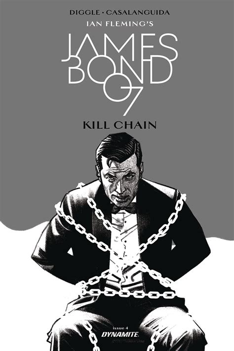 libro james bond kill chain luca casalanguida fresh comics