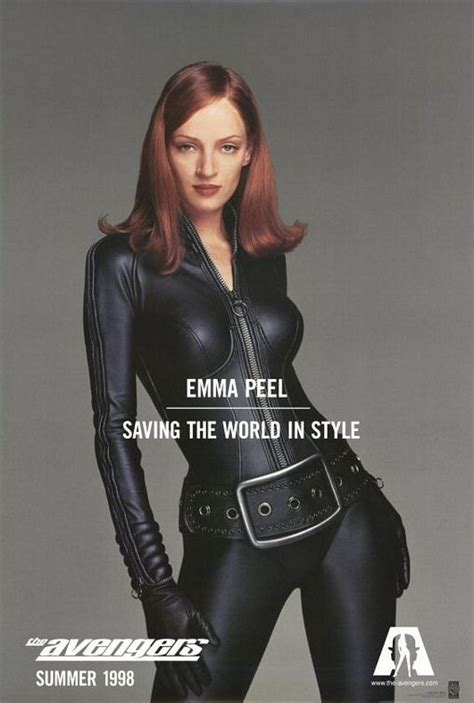 The Avengers 1998 Film The Avengers Mrs Peel Cranky Critic 174 Movie Poster Downloads