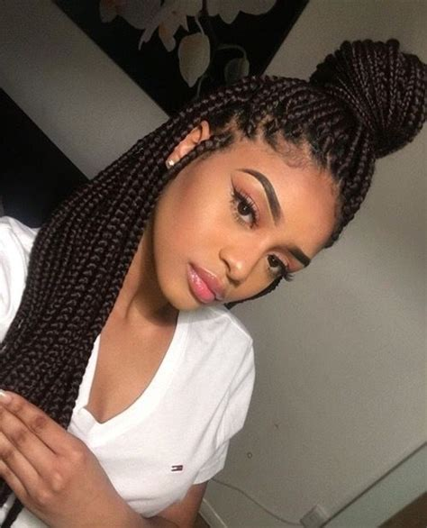 Can I Get Box Braids If I Hair | box braids guide how many packs of hair for box braids