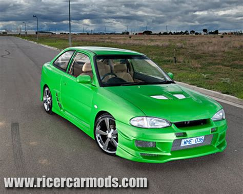 pimped hyundai accent ricer car mods the largest archive of ricer photos on