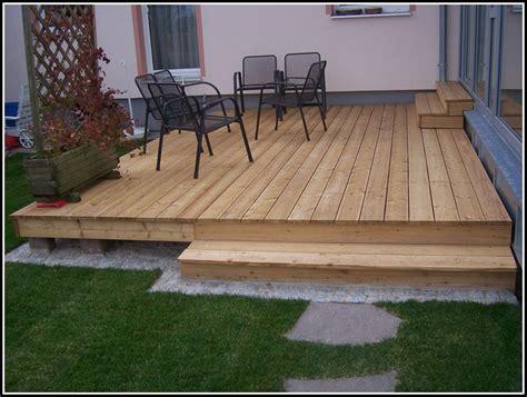 garten terrasse selber bauen anleitung terrasse house