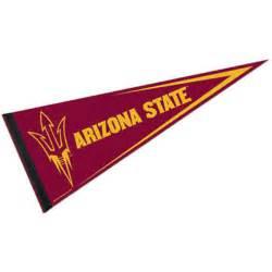 asu colors arizona state pennant and pennants for arizona