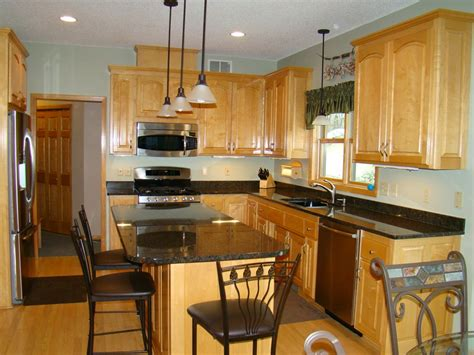 restored maple kitchen cabinets ham lake minnesota lake