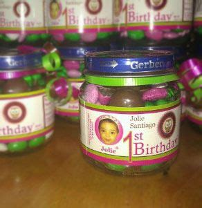 Giveaways For 1st Birthday Baby Girl - best 25 baby jar favors ideas on pinterest baby jars baby food jars and 1st