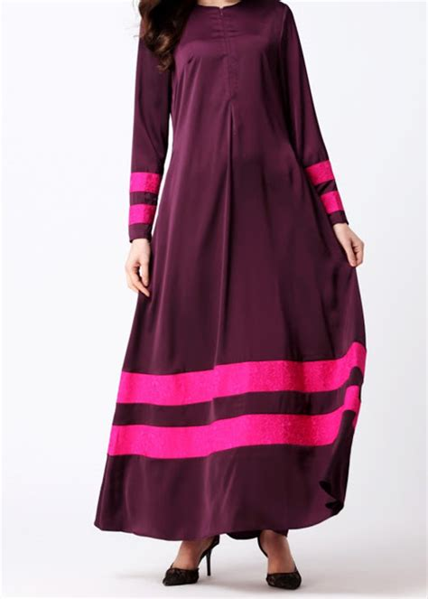 07272 Gamis Lirin Navy Baju Muslim Maxi Dress norzi beautilicious house nbh0491 insyikah jubah nursing friendly